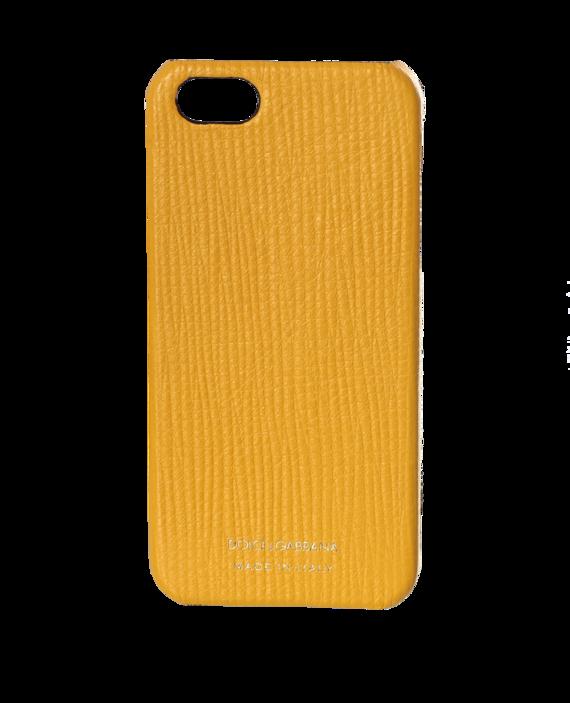 Желтый чехол для Iphone 5 / 5S