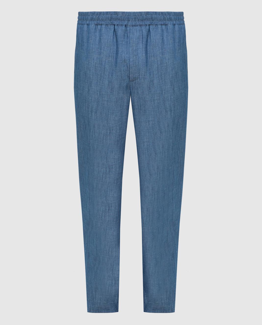 Синие брюки Loro Piana FAL1097 — Symbol