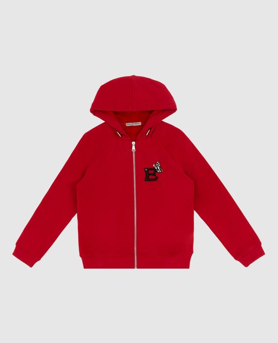 Детская красная спортивная кофта
